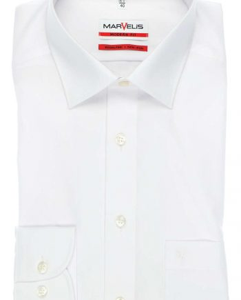 4700-64-00 MARVELIS MODERN FIT SHIRT WIT,