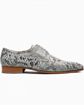 anaconda-silver blue-leather shoes-1708-1