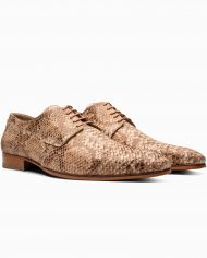anaconda-silver brown-leather shoes-1708-3